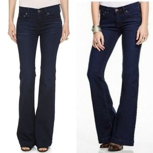 Free People Clean Mid Rise Flare Leg Jeans NEW!